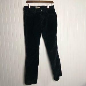 Levi's 505 straight black corduroy pants